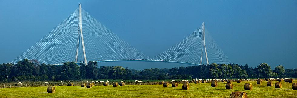 Pont de Normadie 1995    Seine-MaritimeetCalvados/ Le HavreetHonfleur