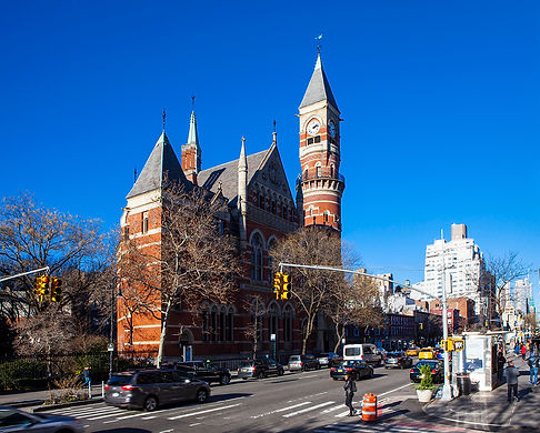 Jefferson Market Library |​ 425 sixth avenue at west 10th street