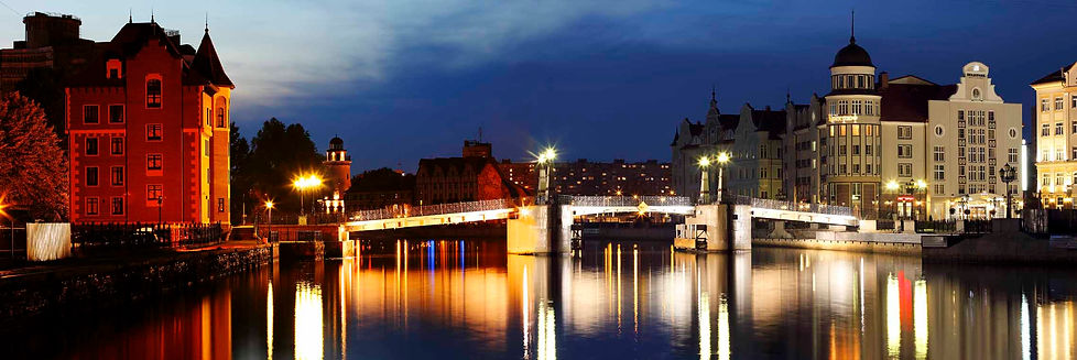 Jubilee bridge/kaliningrad/