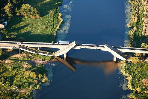 Palmburger Autobahnbrücke/kaliningrad