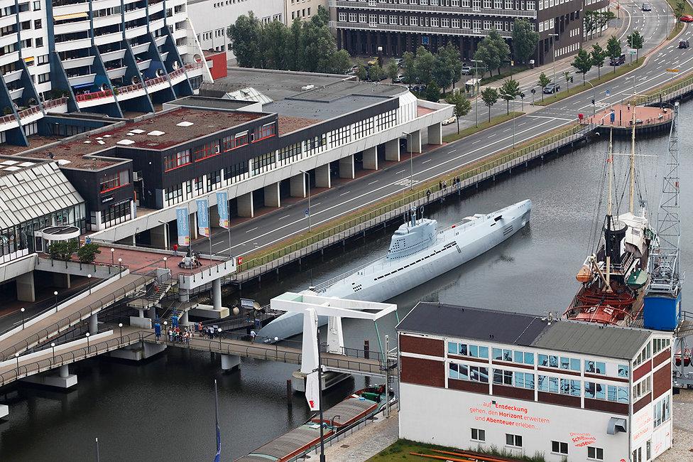 Brücke inBremerhavn in Alter Hafen