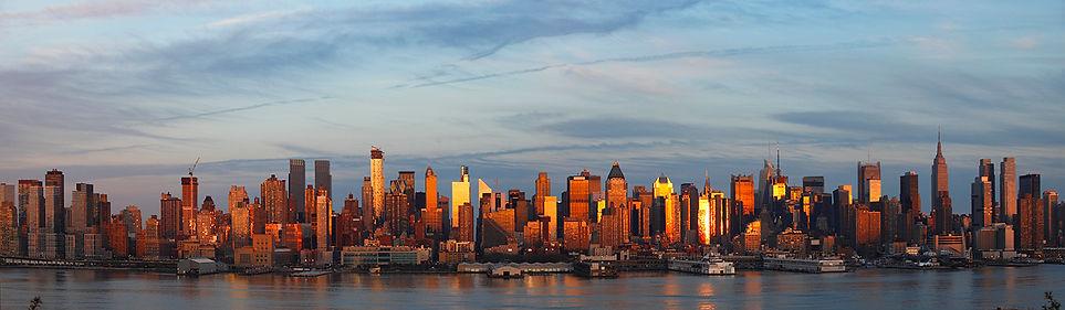 New York, night panoramas