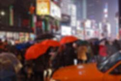 NYC.Manhattan.Broadway.Rain.