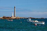 Le phare de I ile Vierge La Manche