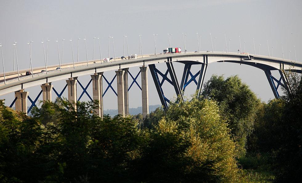 Pont sur le Grand Canal du Havre 1995 Seine-Maritime