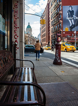 Broome Street and Centre Market place / nyc