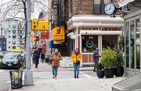 Broom Street and Mott Str/ nyc
