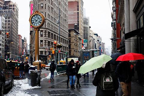 Medison squaer Manhattan New York