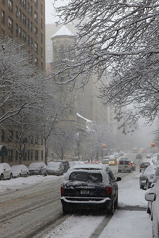 Winter/ New York