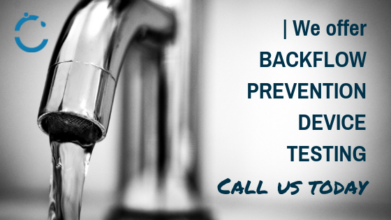We Offer Backflow Prevention Device Testing