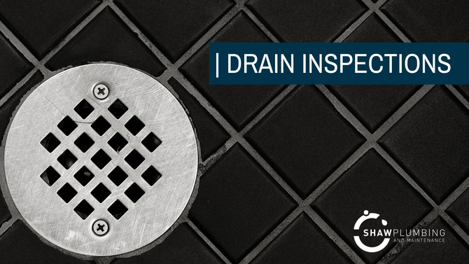 Why should I get my drain inspected?