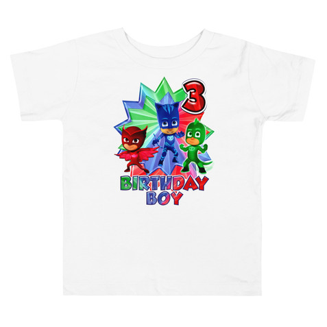 Pj mask custom shirt Birthday