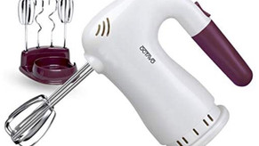 5 Speed Hand Mixer Electric, 250W Ultra Power Kitchen Hand Mixer With Easy Eject Button,