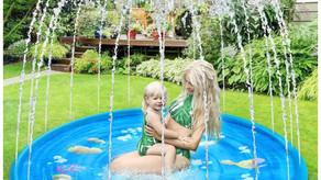Splash Pad,68'' Sprinkler for Kids&