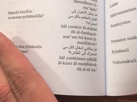 Hamza from Syria learning Finnish