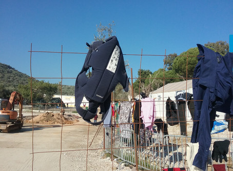 Conditions in camp Moria in Greece - Statement