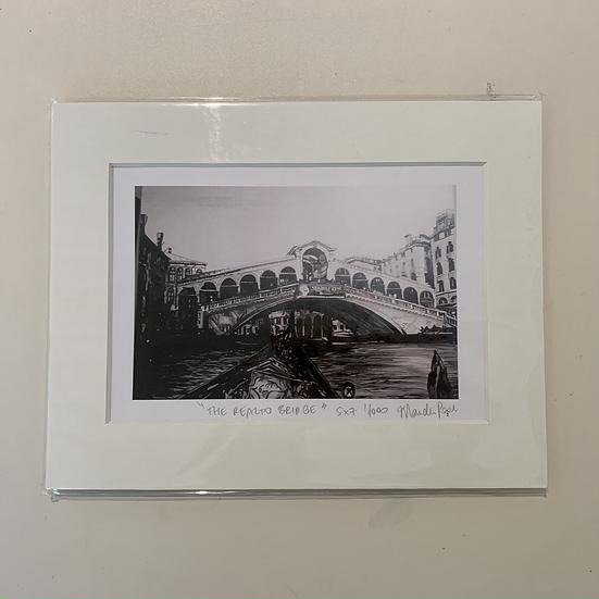 The Realto Bridge Venice