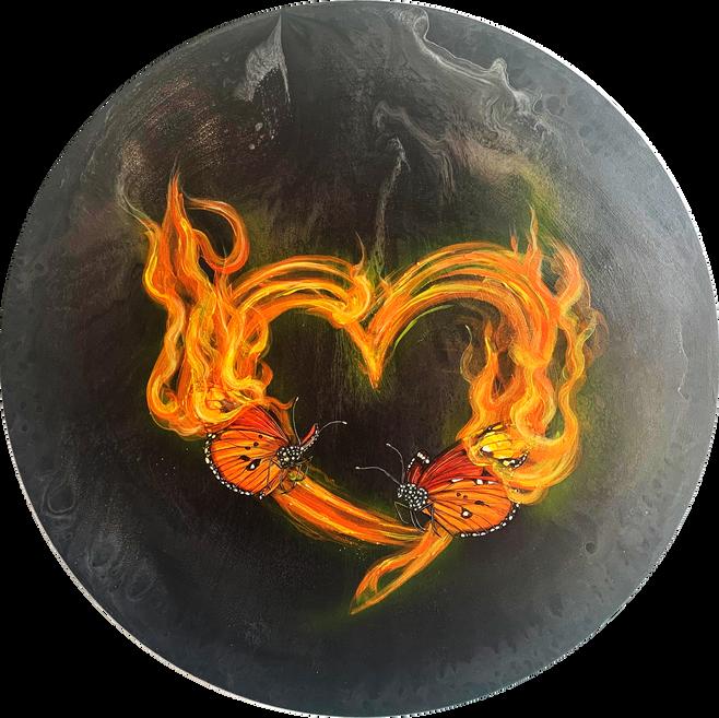 Twin Flame Butterflies