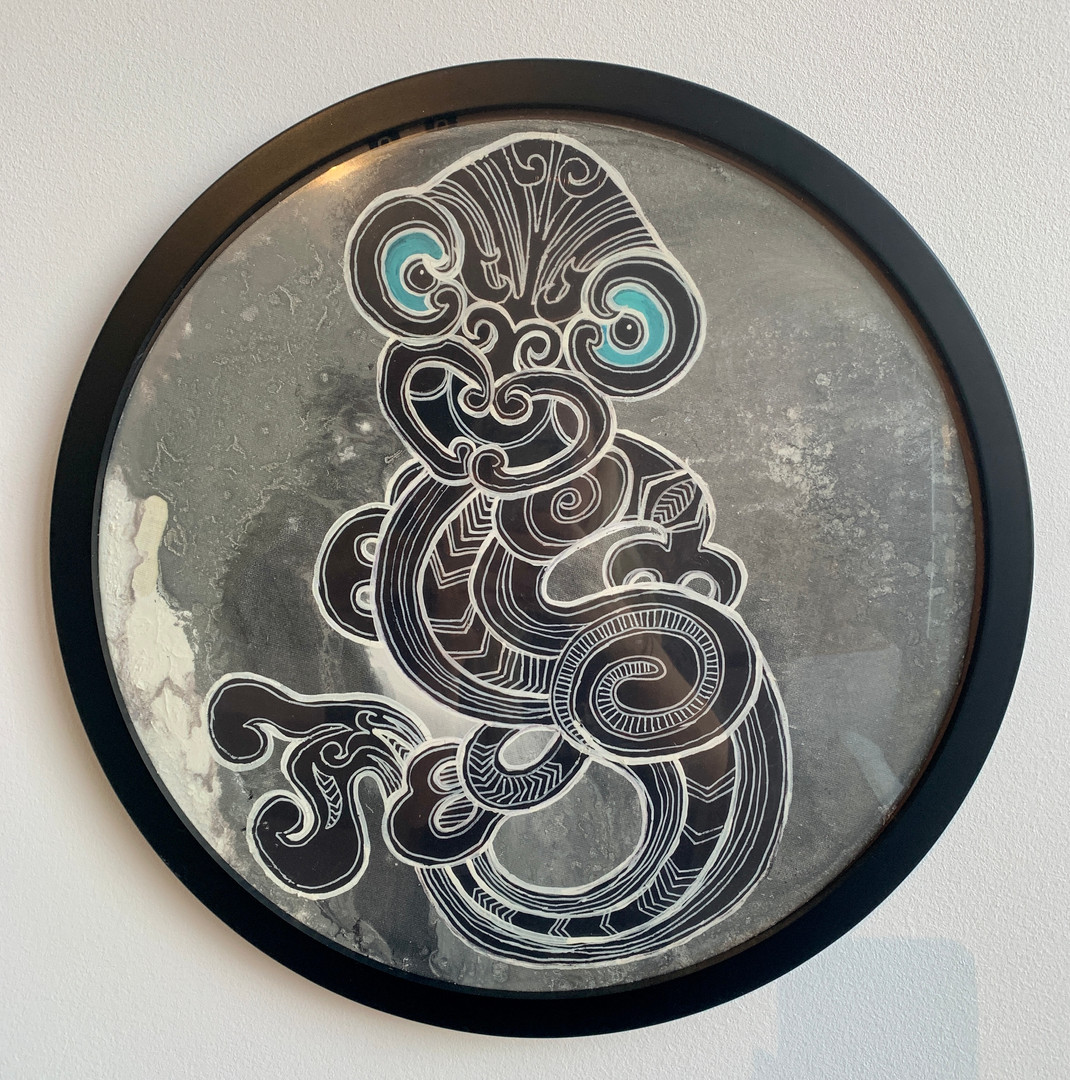 Black and White Taniwha