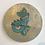 Thumbnail: Teal Taniwha Ureia gold drybrush 25cm
