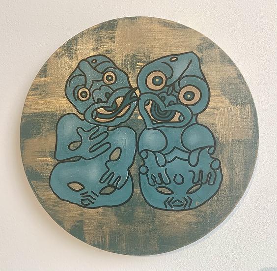 Hei Tiki Aroha – Paranihi and Amarana 30cm