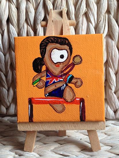 Wenlock Olympic Mascot UK 2012 -Jessica Enis