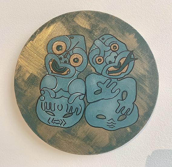 Hei Tiki Aroha – Amarana and Paranihi 25cm