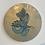 Thumbnail: Teal Taniwha Ureia gold drybrush 20cm