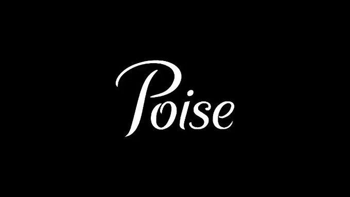 Poise Brand advertisement