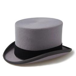 Grey Top Hat