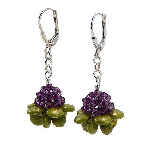 Succulent Bloom Earrings