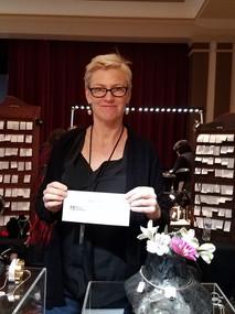 Artist Winner of coupon redeemed.