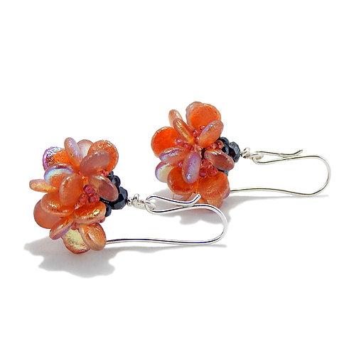 Orange Zest Earrings