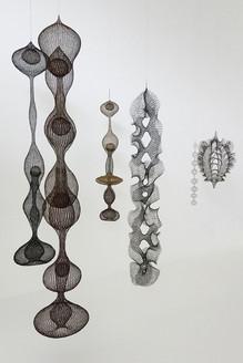 Ruth Asawa hanging sculpures