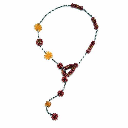 Ruby Sunrise Necklace