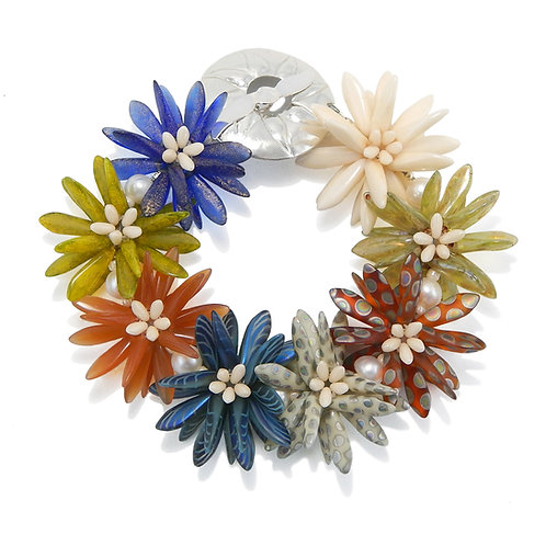 Summer Magic - Daisy Patch Bracelet