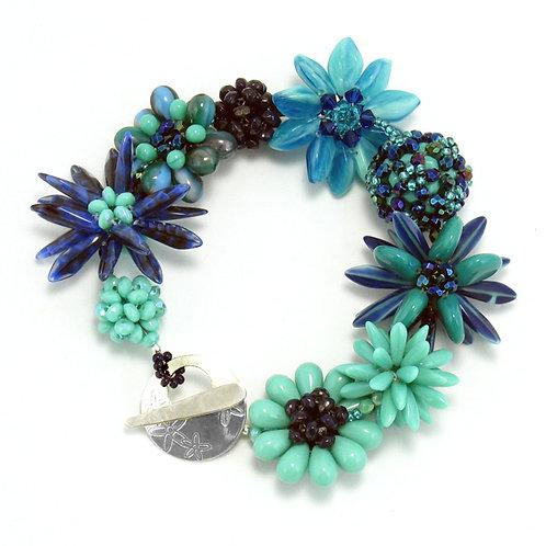Blue Border Bracelet