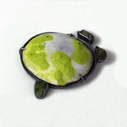 Walk In The Forest Brooch