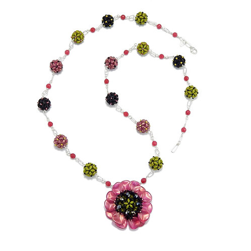 Flower Play Necklace