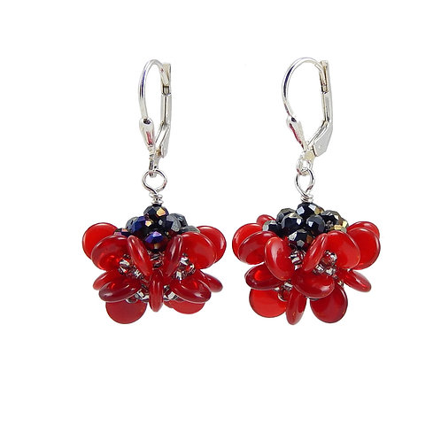 Animated Petals Earrings