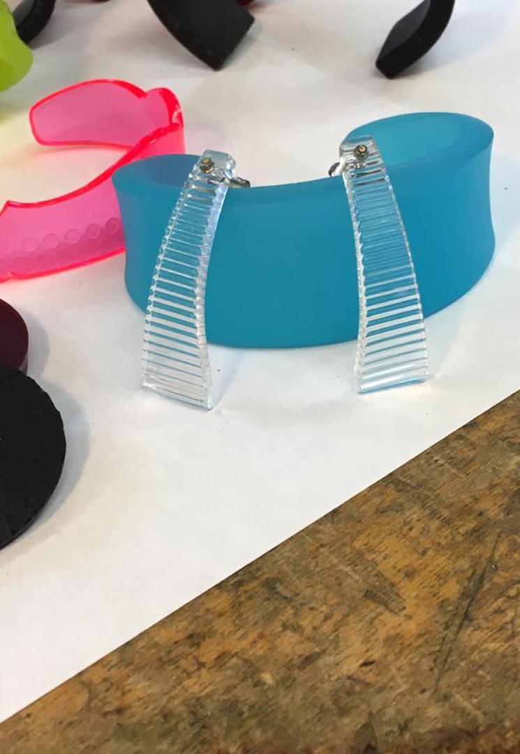 Kelly Miller Clear Earrings
