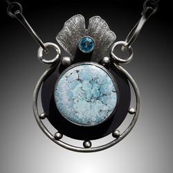 Blue Springs Pendant