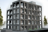 Modernes Apartmentwohnhaus in Nürnberg