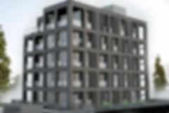 Modernes Apartmentwohnhaus Nürnberg