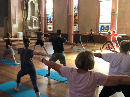 Mission Yoga: Son of a Saint Fundraiser
