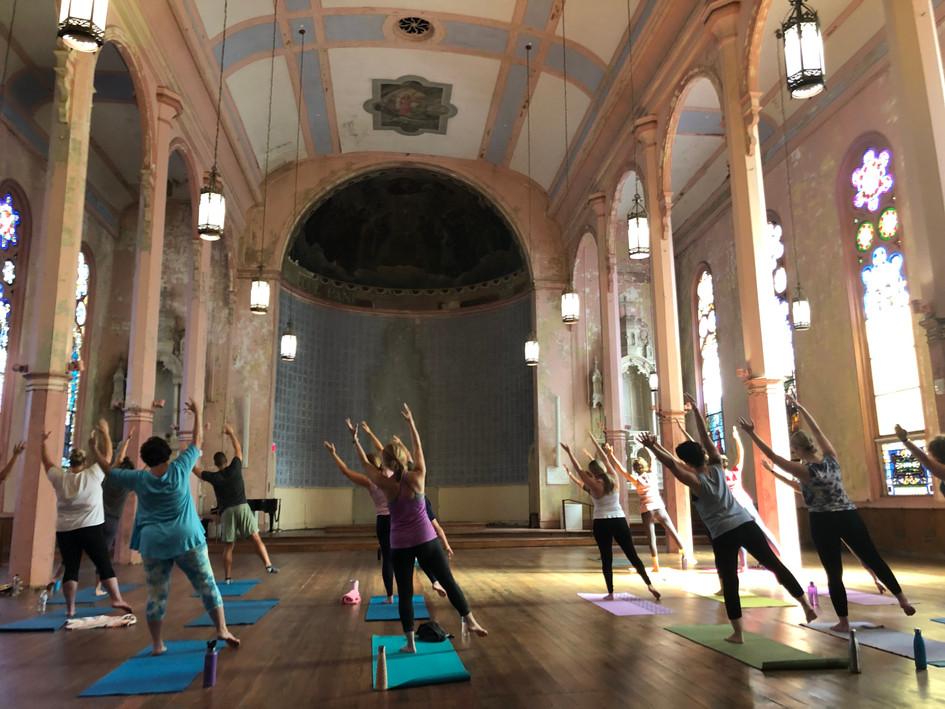 Mission Yoga: Son of a Saint Fundraiser