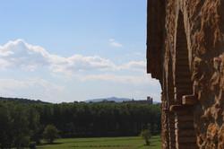 Vistes al Castell d'Empordà