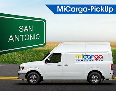 Servicio de envio de carga desde San Antonio TX a Venezuela.