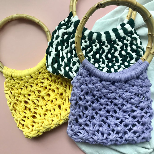 MACRAME BAG | Custom Colour