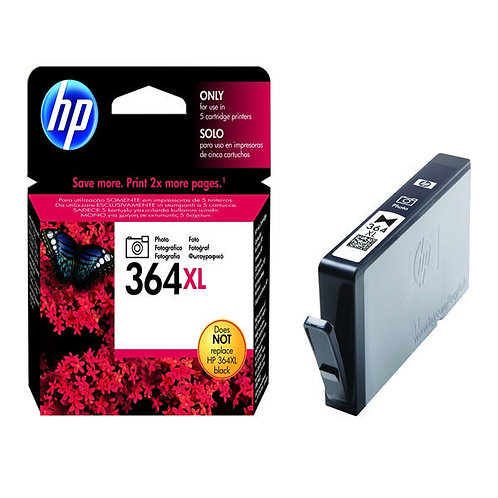High Capacity HP 364 XL Photo Black Ink Cartridge (CB322EE)